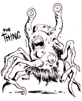 Finktober - The Thing by TopperHay