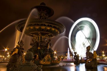 The fountain and the wheel by Kriloner