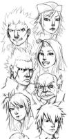 Fairy Tail Sketch by Olsonmabob