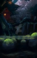 Moss - Night by Rousteinire