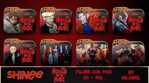 SHINee Married to the Music Folder Icon Pack by nslam92