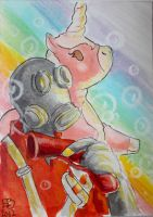 Pyro - Magic and Bubbles by lissa-quon