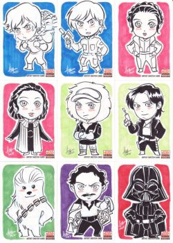 Star Wars Galaxy 5 - 010-018 by aimo