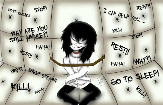 Jeff The Killer (Why are you still awake?!) by creepyodd