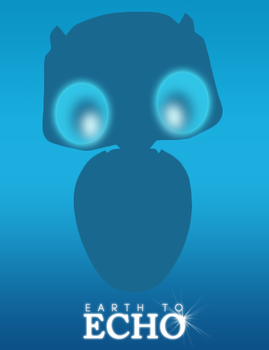 Earth to Echo Minimalist Poster by mercscilla