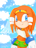 Tgk : Tikal the Angel by Cha0zGallAnT