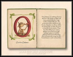 O is for Oakmen by WildWoodArtsCo