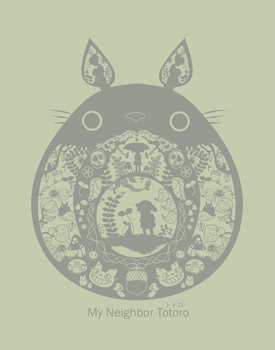 My Neighbor Totoro by pronouncedyou