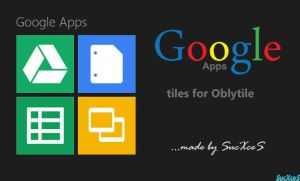 Google Apps for Oblytile by SucXceS