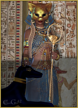 Egyptian Beauty by CaperGirl42