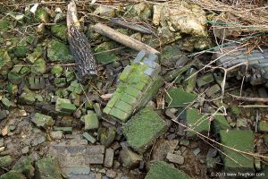 Grungy stone and debris stock image 001 by NoirArt