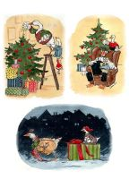 Christmas Cards 2012 by cidaq