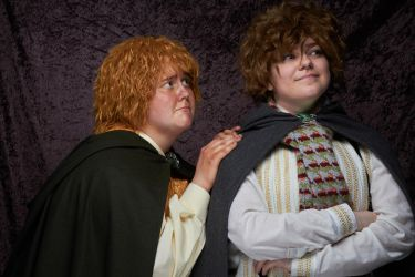 Merry and Pippin 3 by ldynamicphotography