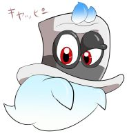Super Mario Odyssey new character Ghost Hat by Water-fish-jp