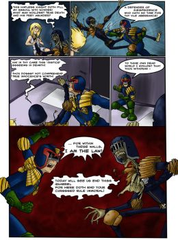 Death, Dredd and the Maiden -3 by kyetxian