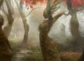 Magic the Gathering: Dryad Arbor by Cryptcrawler