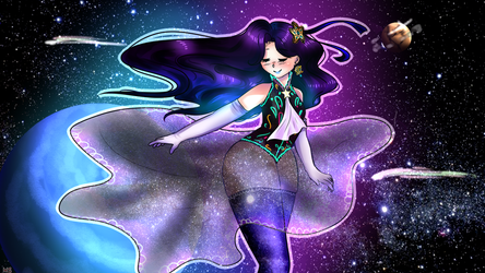 Elphidia The Cosmic Queen by maguiii8