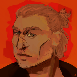 Varric Tethras by titherdel