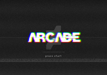 Arcade Typography by Exclamative