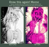Before and After Meme Amy by sonicgirl922