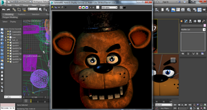 Angry Freddy - 3Ds Max WIP by GamesProduction