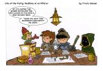 rolling for iniative... rpg comic by travisJhanson