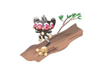 Pokefusion challenge - 6 - Claypom by Cryptidette
