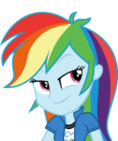 Mlp EqG 3 rainbow dash (...) vector by luckreza8