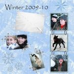 Winter - digital scrapbook by Itti