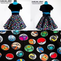 Pokeball - Pokemon - Cosplay Skirt by DarlingArmy