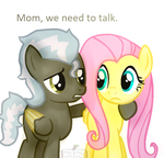 Mom, We Need To Talk [MLP Next Gen] by BlueBookWard