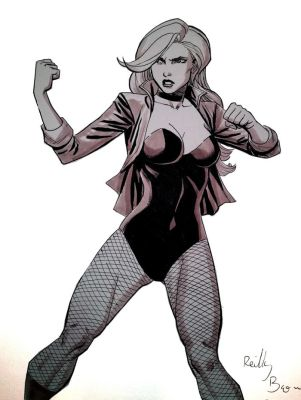 Black Canary by ReillyBrown