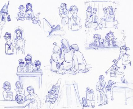 A Series of Unfortunate Drawings by kuabci