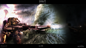 Halo reach Wallpaper by Ryadooo