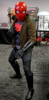 My newly upgraded Red Hood Cosplay by Cadmus130