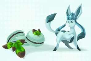 :.Mint Chocolate Glaceon.: by MercuryJin