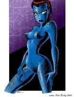 Bruce Timm's Mystique by richmbailey