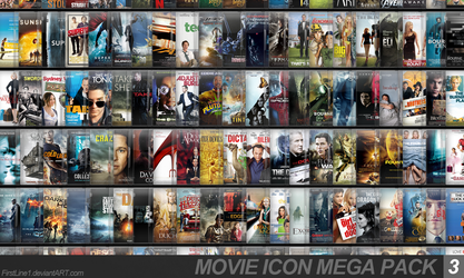 Movie Icon Mega Pack 3 by FirstLine1