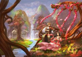 Melody of Flora by Athena-Erocith