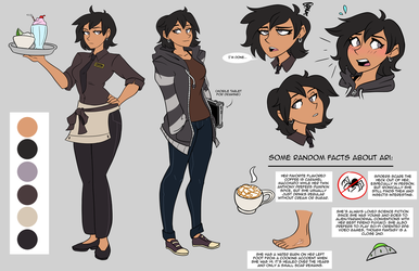 Arianna Reference Sheet 2018 by Ric-M