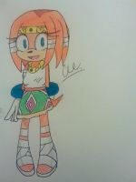 Tikal the Echidna  by blackburn789