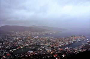 Bergen in Rainy Day by Furuhashi335