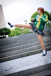 Chie - Kick it! by stormyprince