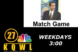 Match Game Promo for KQWL-TV (1998-1999) by revinchristianhatol