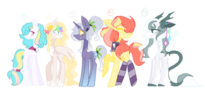 Pony Adoptables #1 (OPEN 1/5) by TheCatQueen10