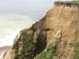 California Steep Cliff rightside by seancfinnigan