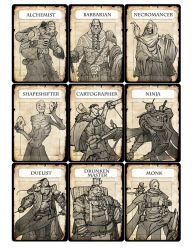 Megaupdate1 charactercards1 by alexdrummo