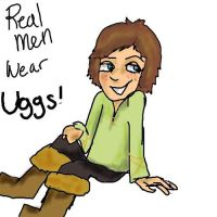 Hiccup's UGGs by wolf-pirate55