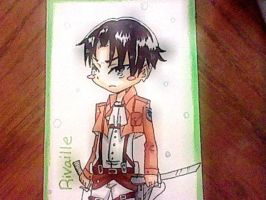 Levi Rivaille by DrawingInterest