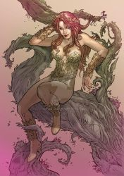 Poison Ivy Tribute Colored by 8Dimat8